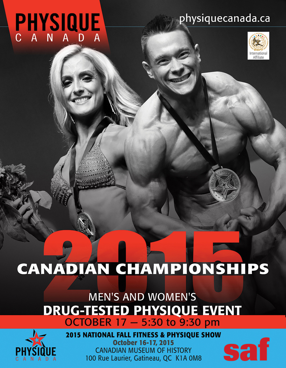 2015 Physique Canada Canadian Championships